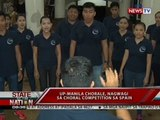 SONA: UP-Manila Chorale, nagwagi sa Choral Competition sa Spain