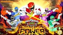 Power Rangers Dino Charge - Power Rangers Full Games - Power Rangers Unleash the Power!
