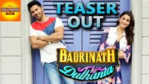 Badrinath Ki Dulhaniya TEASER is Out | Alia Bhatt, Varun Dhawan | Bollywood Asia