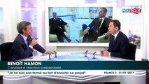 Benoît Hamon est ouvert aux idées de sa famille politique