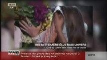 Iris Mittenaere élue Miss Univers