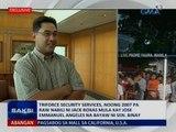 Triforce Security Services, noong 2007 pa raw nabili ni Jack Roxas mula sa bayaw ni Sen. Binay