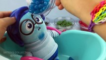 Fun Learning Colors with Disney Inside Out Sadness Bathtime In Jelly Beans Pretend Play for Children