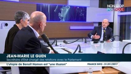 Emmanuel Macron ou Benoît Hamon ? Jean-Marie Le Guen a fait son choix