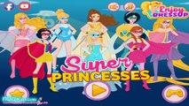 Super Princesses - Super Frozen Elsa - Super Anna - Super Snow White - All Princess Super Woman
