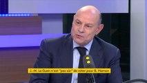 """Pour Jean-Marie Le Guen, Benoît Hamon doit faire """"des gestes substantiels"""""""