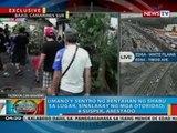 Umano'y sentro ng bentahan ng shabu sa Baao, Camarines Sur, sinalakay ng mga otoridad