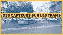 Grenoble installe des capteurs mobiles de particules fines sur ses tramways