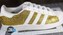 This Glitter Transformation Will Rock Your Sneakerhead World