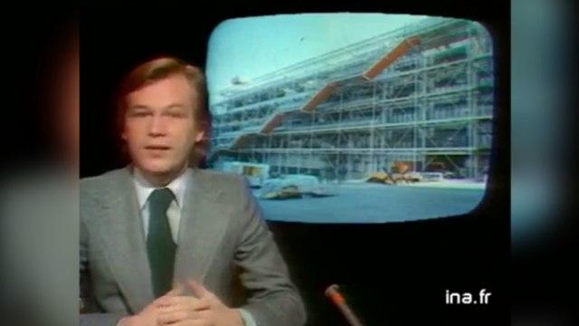 Il y a quarante ans, l'inauguration du «révolutionnaire» Centre Georges-Pompidou