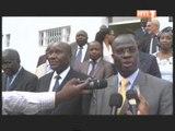Le Premier ministre Duncan a reçu une délégation du CEPICI et le patron de l'ONUCI Bert Koenders