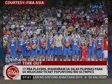 17 PBA Players, ipahihiram sa Gilas Pilipinas para sa Wildcard Ticket papuntang Rio Olympics