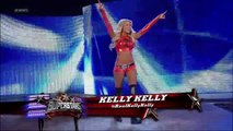Brie Bella (w/ Nikki Bella) vs. Kelly Kelly