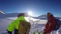 Adrénaline - Ski : Home from the top S02E02, Une belle journée de poudreuse sur les pentes de l'Aiguille Rouge aux Arcs