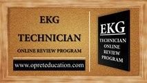 EKG TECHNICIAN ONLINE REVIEW COURSE TEXTBOOK I EKG ONLINE COURSE