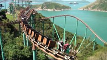 Hong Kong: Un Roller Coaster avec une vue incroyable !