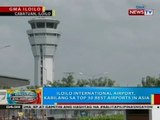 Iloilo International Airport, kabilang sa top 30 best airports in Asia