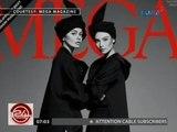 24 Oras: Janine Gutierrez, stylish at sophisticated sa multiple covers ng isang fashion magazine