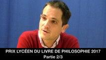 Prix lycéen du livre de philosophie 2017 : 2. La privation de l'intime, Michaël FOESSEL