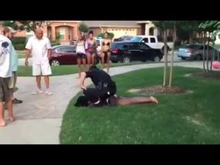 Pool Party Turns Violent When Police Show Up and Assault and Nearly Shoot Multiple Teens