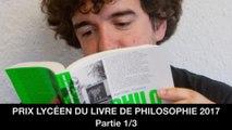Prix lycéen du livre de philosophie 2017 : 1. Ouverture de la rencontre, 2. Philosophie des jeux vidéo, Mathieu TRICLOT