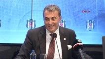 Beşiktaş Başkanı Fikret Orman Açıklamalarda Bulundu