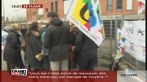 Grève au collège Nadaud de Wattrelos