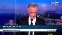 François Bayrou ne soutiendra pas François Fillon