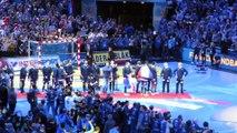 Médailles, podium et clapping des Bleus - France Norvège - Finale du mondial 2017