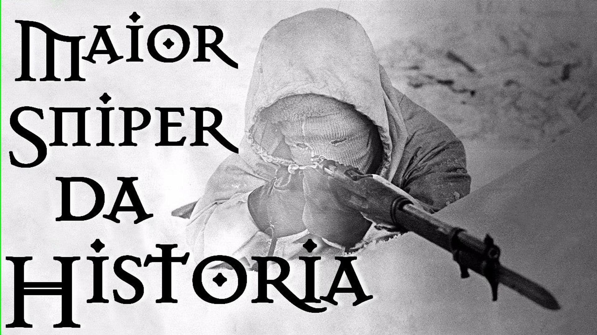 ATIRADOR DE ELITE MAIS LENDÁRIO DA HISTÓRIA