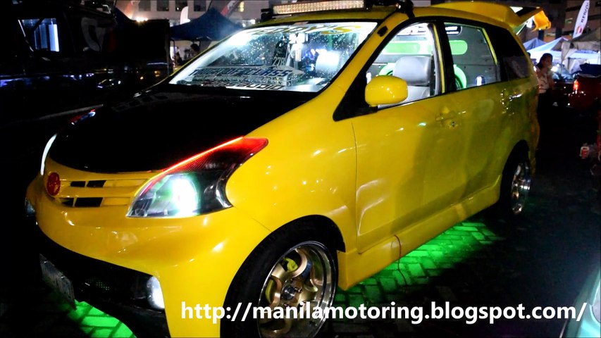 Customized Toyota Avanza Sound Setup