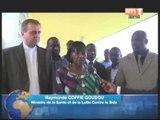 La ministre de la santé et de la lutte contre le sida visite des centres de santé de yamoussoukro