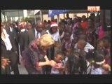 Arbre de Noël au palais présidentiel organisé par la première Dame Dominique Ouattara