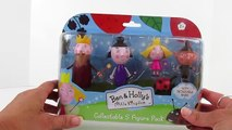 BEN AND HOLLYS LITTLE KINGDOM!! TWO Play-Doh Surprise Eggs!! Ben Elf and Holly Fairy TOYS! NICK JR!