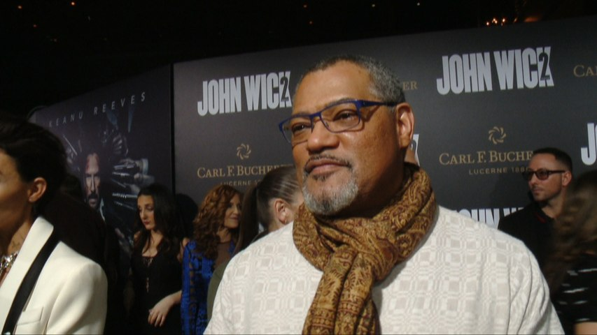 """Laurence Fishburne """"Wanted In"""" For 'John Wick: Chapter 2'"""