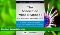 FREE [PDF] DOWNLOAD Associated Press Stylebook 2015 and Briefing on Media Law The Associated Press