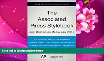 DOWNLOAD EBOOK Associated Press Stylebook 2015 and Briefing on Media Law The Associated Press Full