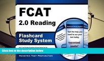 Read Online FCAT 2.0 Reading Flashcard Study System: FCAT Test Practice Questions   Exam Review