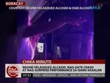 24 Oras: Regine Velasquez-Alcasid, nag-gate crash at nag-surprise performance sa isang kasalan