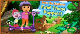 Doras Find Those Puppies - Dora The Explorer