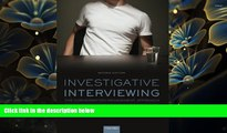FREE [DOWNLOAD] Investigative Interviewing: The Conversation Management Approach Eric Shepherd For