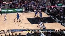 Kawhi Leonard Crosses Up Victor Oladipo  Thunder vs Spurs  January 31, 2017  2016-17 NBA Season