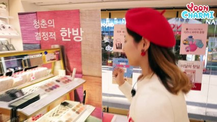 YoonCharmission!! Full makeup-ing at The Face Shop!!