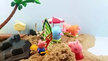 Peppa Pig Peppa & Georges Surfing Stop Motion Animation New Episodes 2016