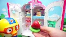 Pororo refrigerator toy Kongsuni fry-pan Kitchen stuffs and bakery toy