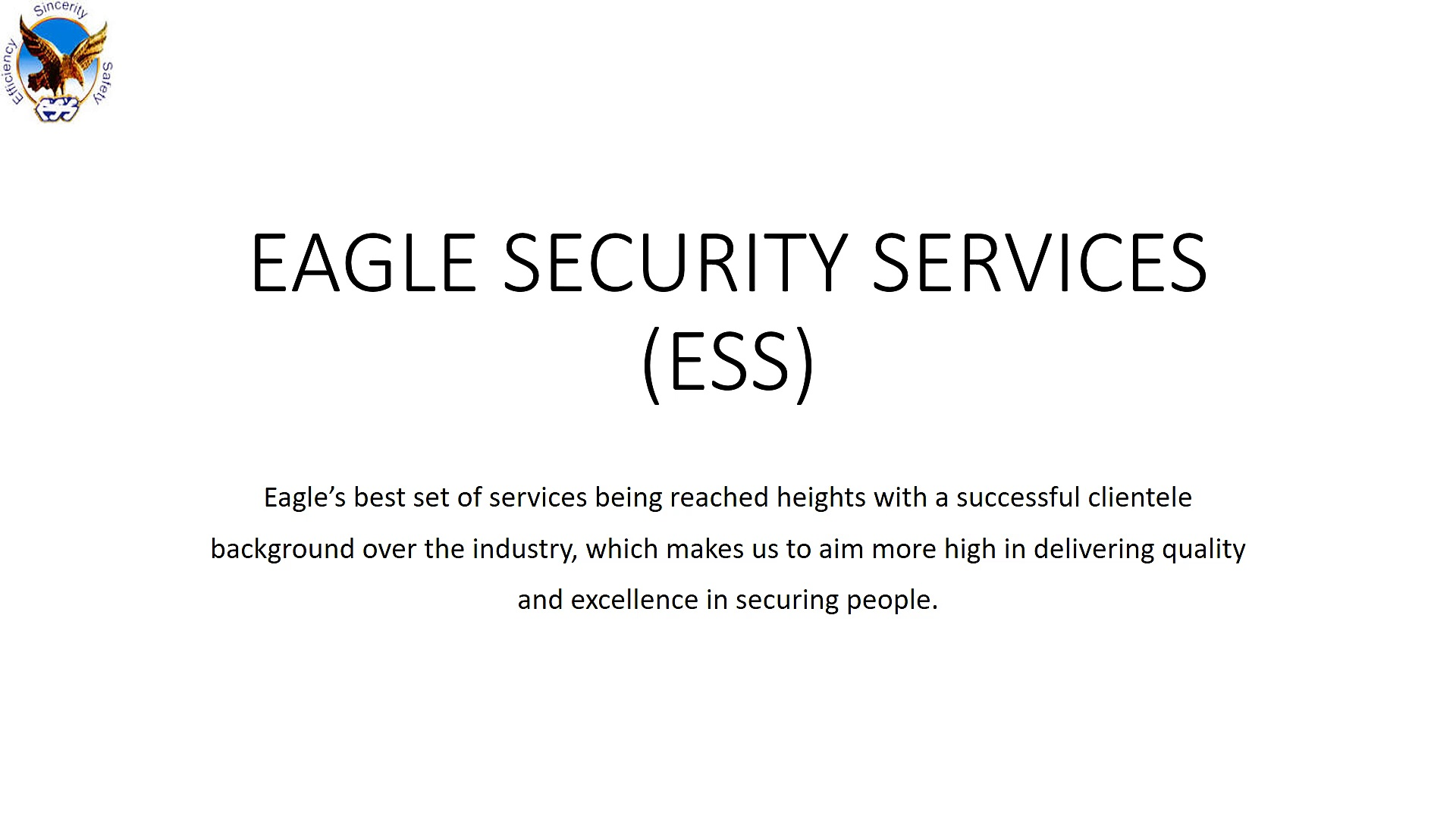Eagle Security Services_Corporate Security Service In Bangalore
