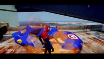 MCQUEEN: Cars Smash Party with Spiderman & #Disney Lightning #McQueen Nursery Rhymes Songs