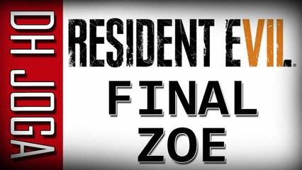 Resident Evil 7: O Que acontece se salvarmos a ZOE??