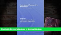 Audiobook  Arts-Based Research in Education: Foundations for Practice (Inquiry and Pedagogy Across