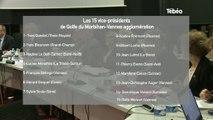 Golfe Morbihan Vannes Agglo : 15 vice-présidents élus